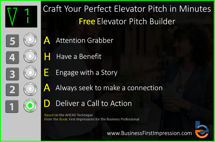 elevator pitch how to make more professional